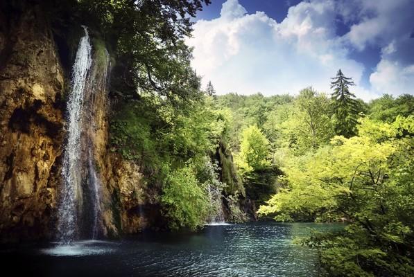 Fotografie z riviéry NP Plitvická jezera