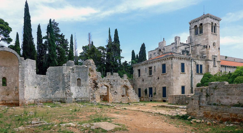 Benediktinský klášter na ostrově Lokrum