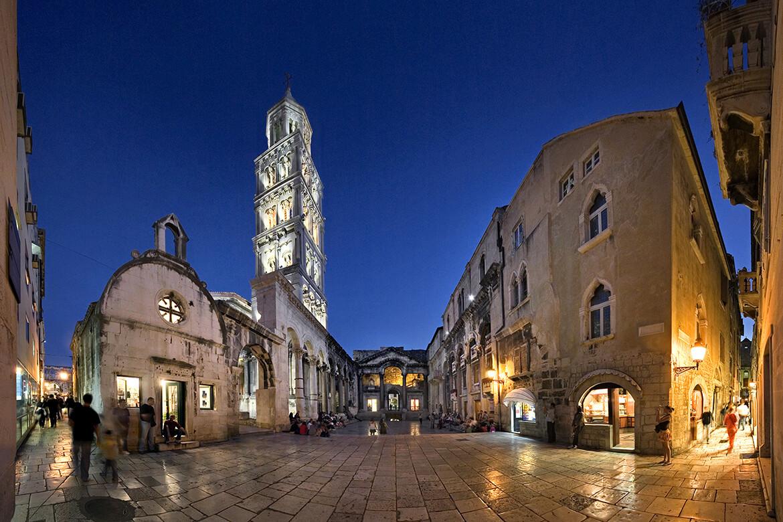 Diokleciánův palác ve Splitu