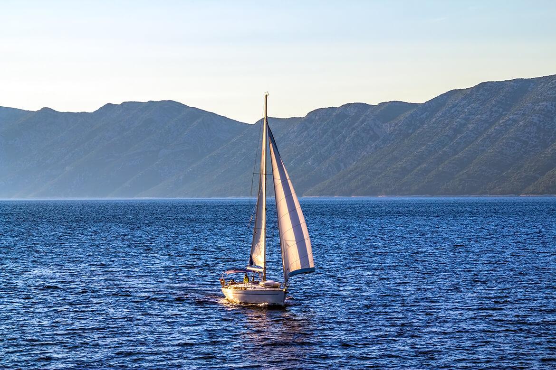 Plachetnice na Istrii